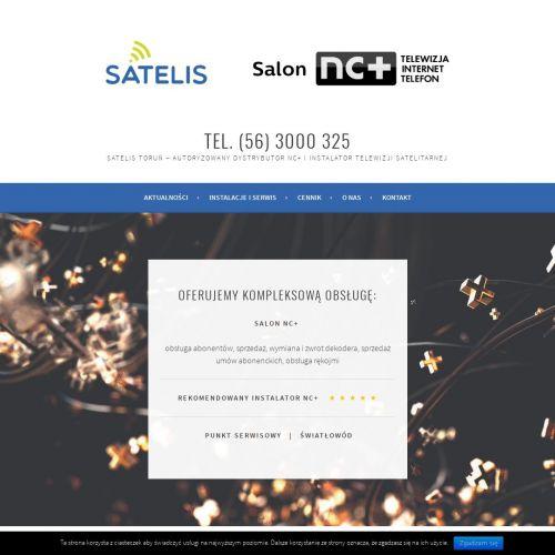 Instalacja anten NC+ w Toruniu