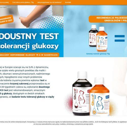Test obciążenia glukozą w ciąży