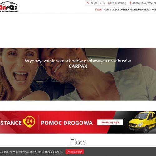 Tania wypożyczalnia samochodów Carpax