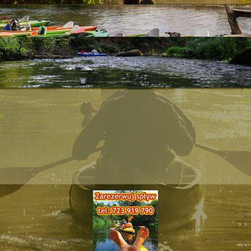 Spływy kajakowe - Tanew