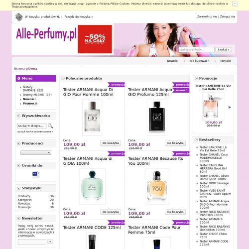 Perfumy firmowe