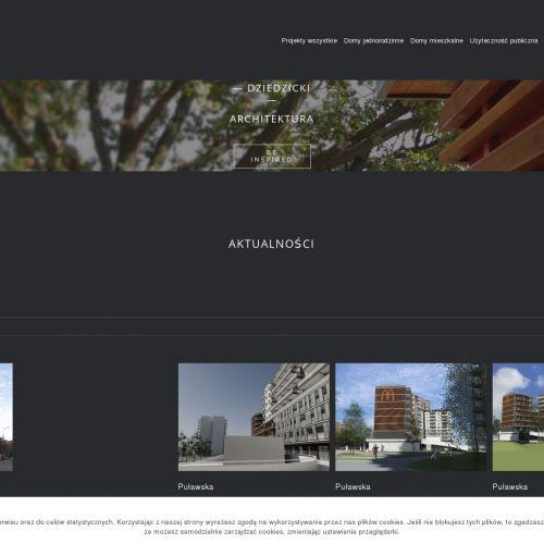 Projektów domów jednorodzinnych