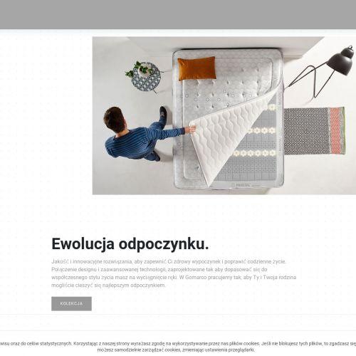 Sklep internetowy z materacami