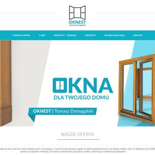 Oknest - drewniane okna z Torunia