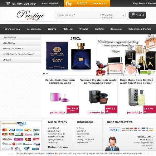 Markowe i oryginalne perfumy