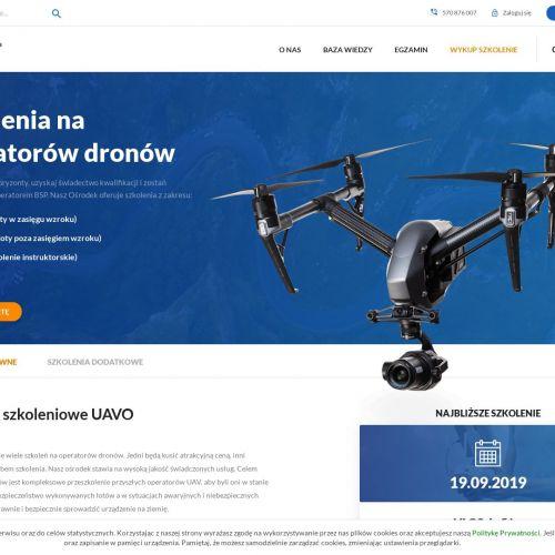 Kurs obsługi drona