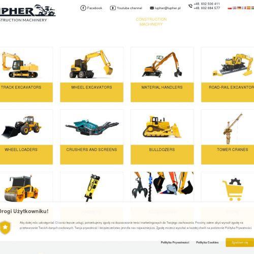 Import maszyn budowlanych