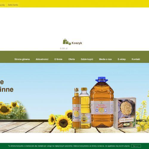 Nierafinowane oleje konopne i lniane
