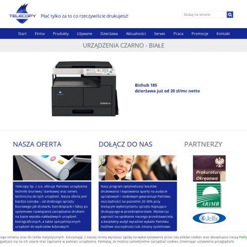 Używane kopiarki i drukarki Canon