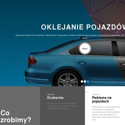 Oklejanie witryn sklepowych i samochodów