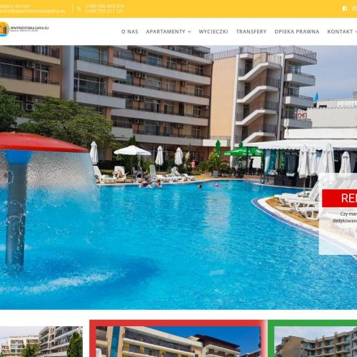 Apartamenty na sprzedaż lub wynajem w Bułgarii