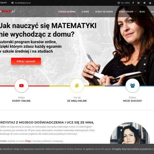 Korepetycje z matematyki online