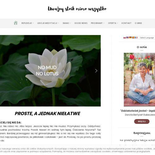 Lekcje mindfulness – Warszawa