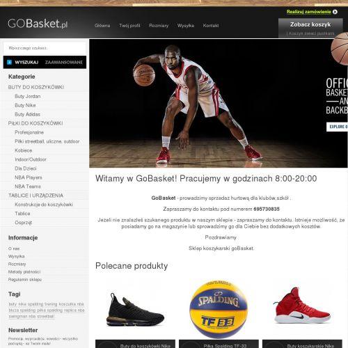 Buty dla koszykarzy Adidas Pro i Nike Air Max