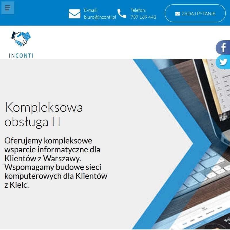Zdalny informatyk w Kielcach lub Warszawie