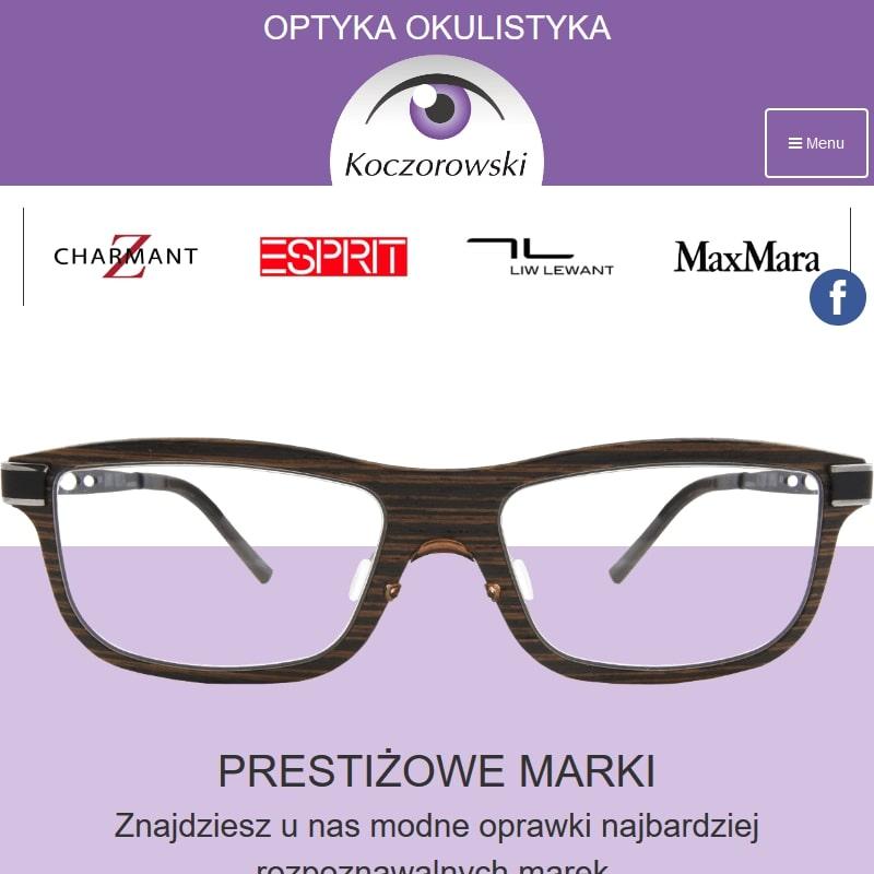 Okulary korekcyjne oraz oprawki do okularów