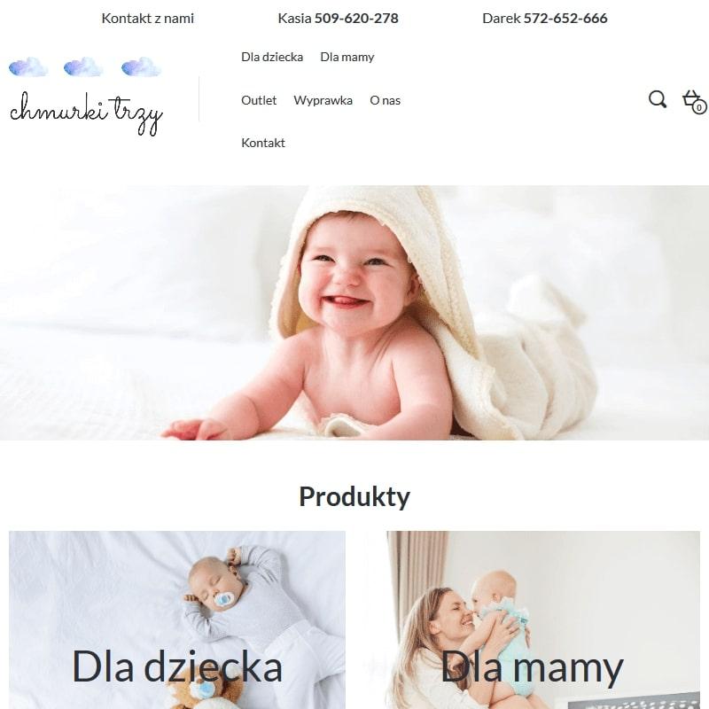 Produkty bambusowe dla niemowląt