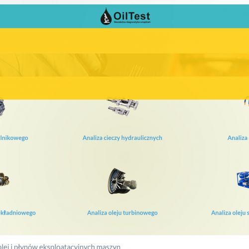 Testy lepkości oleju hydraulicznego