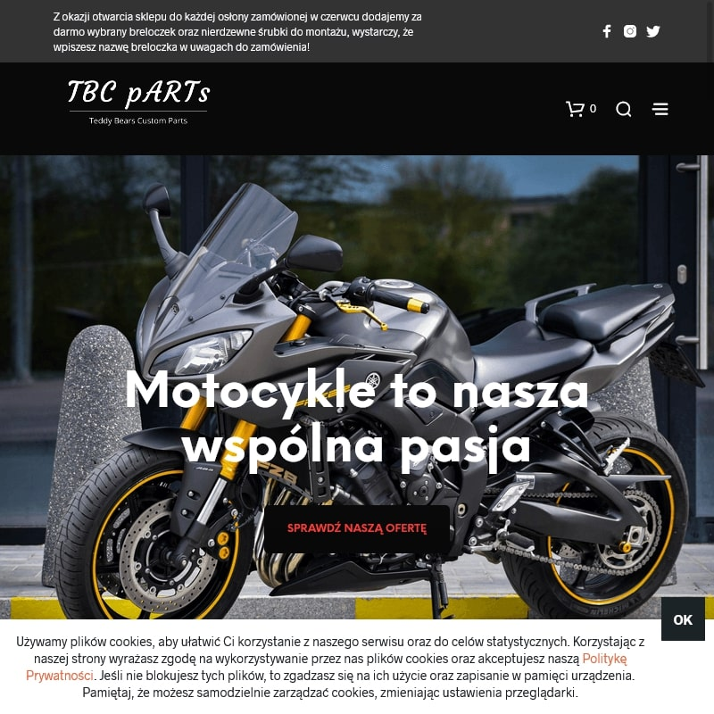 Oryginalny prezent dla motocyklisty