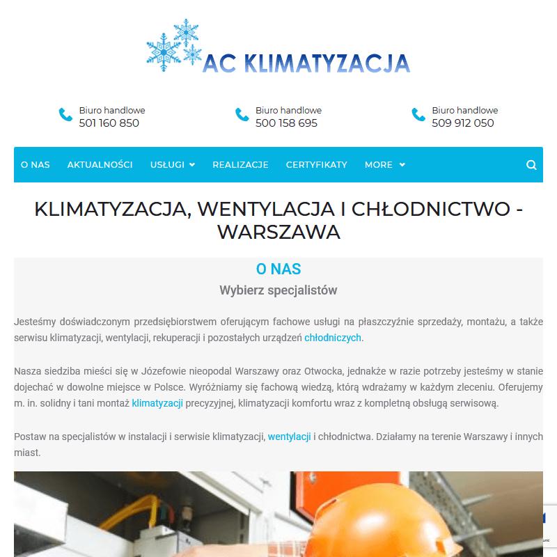 Chłodnictwo - Warszawa