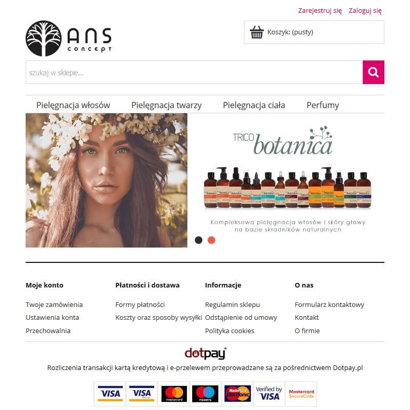 Dystrybutor włoskiej marki kosmetycznej