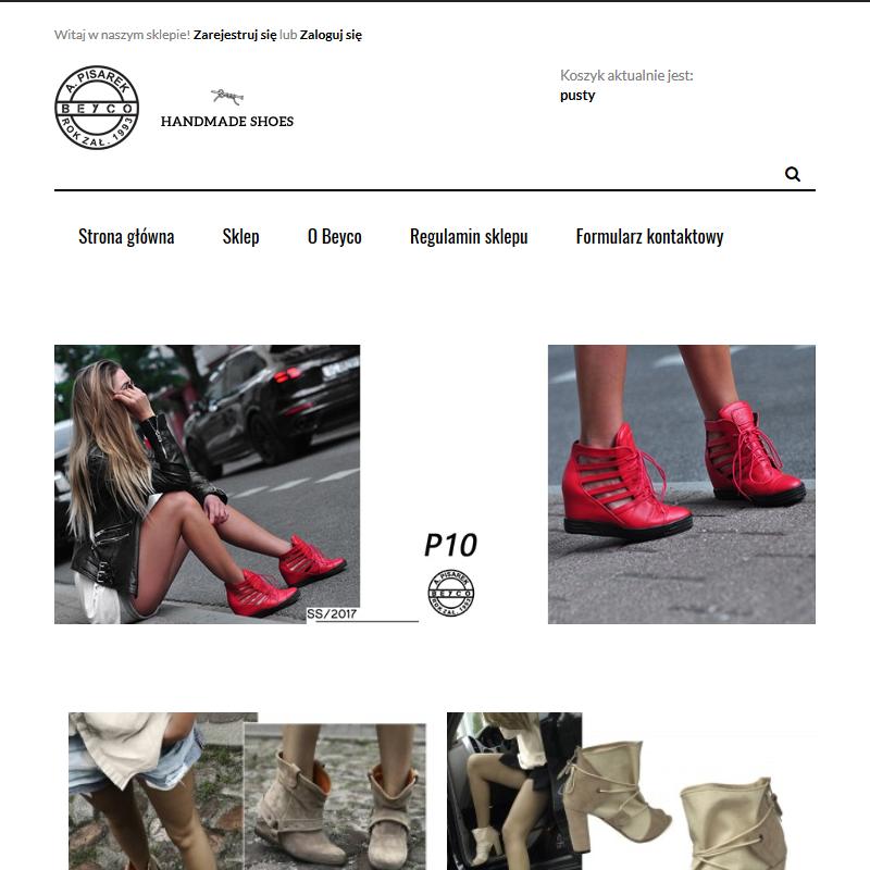 Modne buty na koturnie - Sklep internetowy