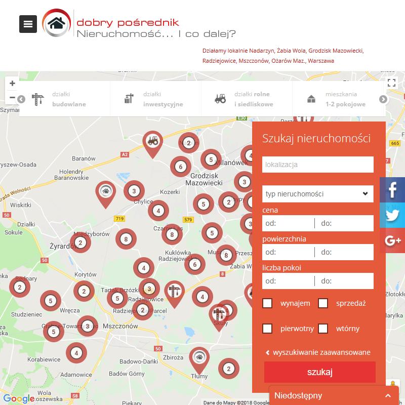 Ziemia na sprzedaż - Radziejowice