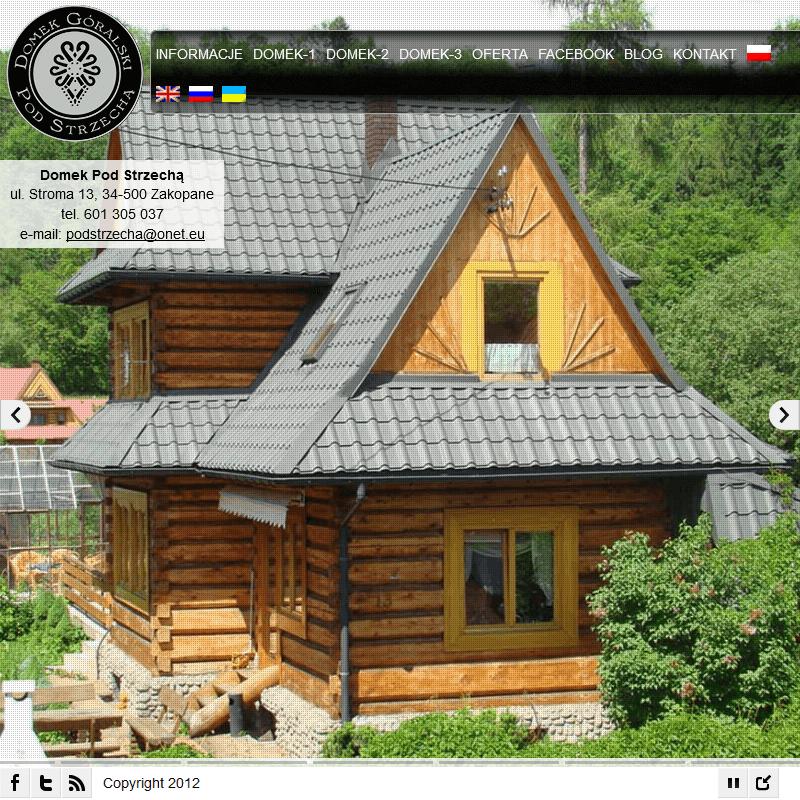 Góralski dom - Zakopane Krupówki