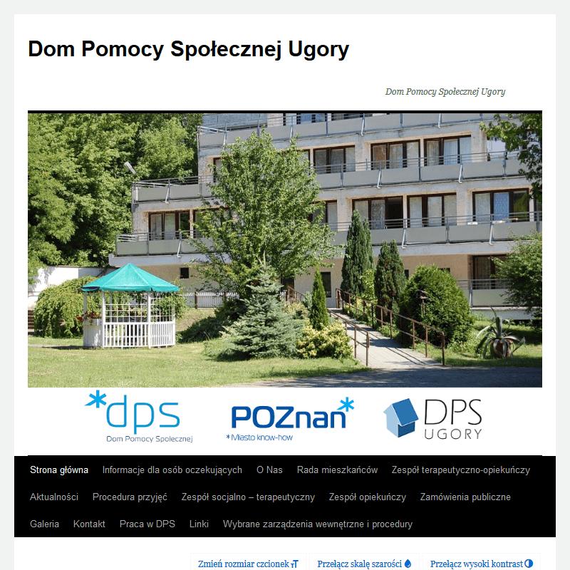 Dom pomocy społecznej - Ugory Poznań