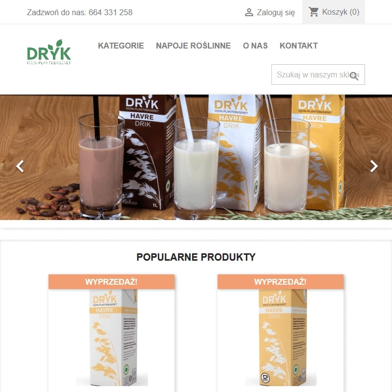 Czekoladowe mleko owsiane