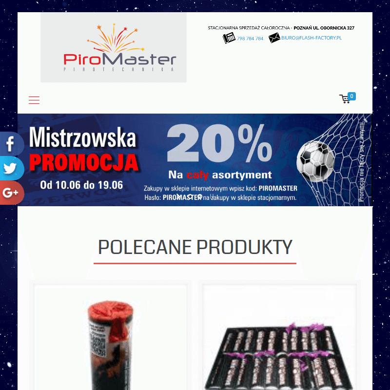 Pokazy fajerwerków - Poznań
