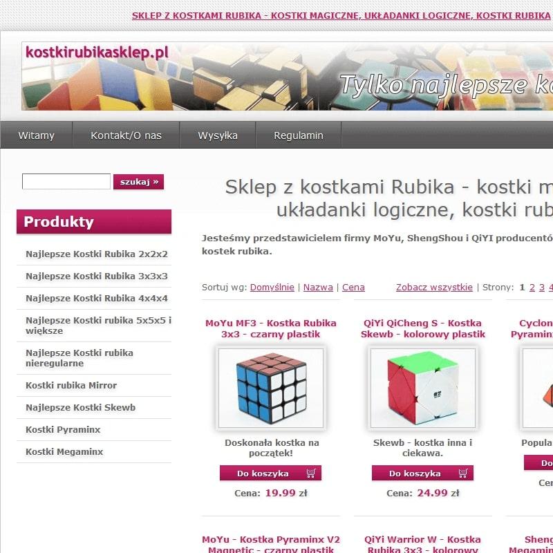 Kostki Rubika 2x2x2 oraz 3x3x3