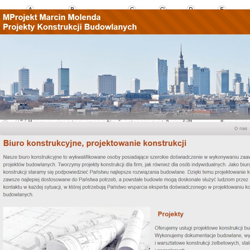 Pracownia projektów konstrukcji - Warszawa