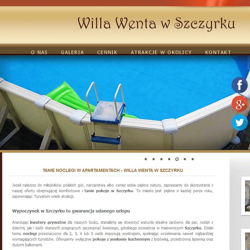 Willa z basenem - Szczyrk