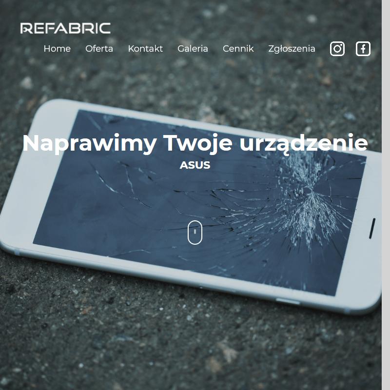Zbita szybka w tablecie - Poznań