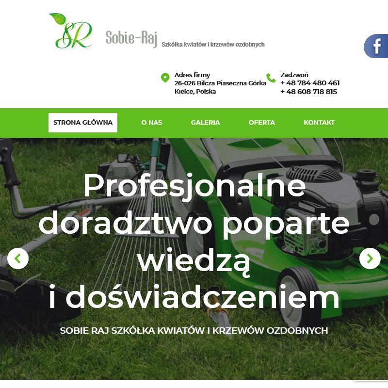Sklep ogrodniczy w Kielcach