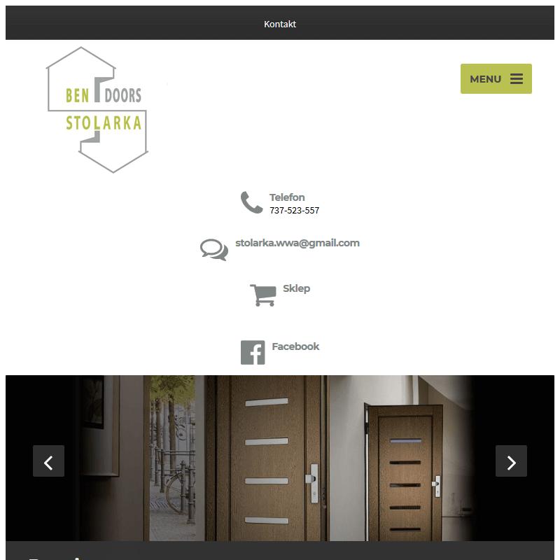 Drzwi wejściowe - Gliwice