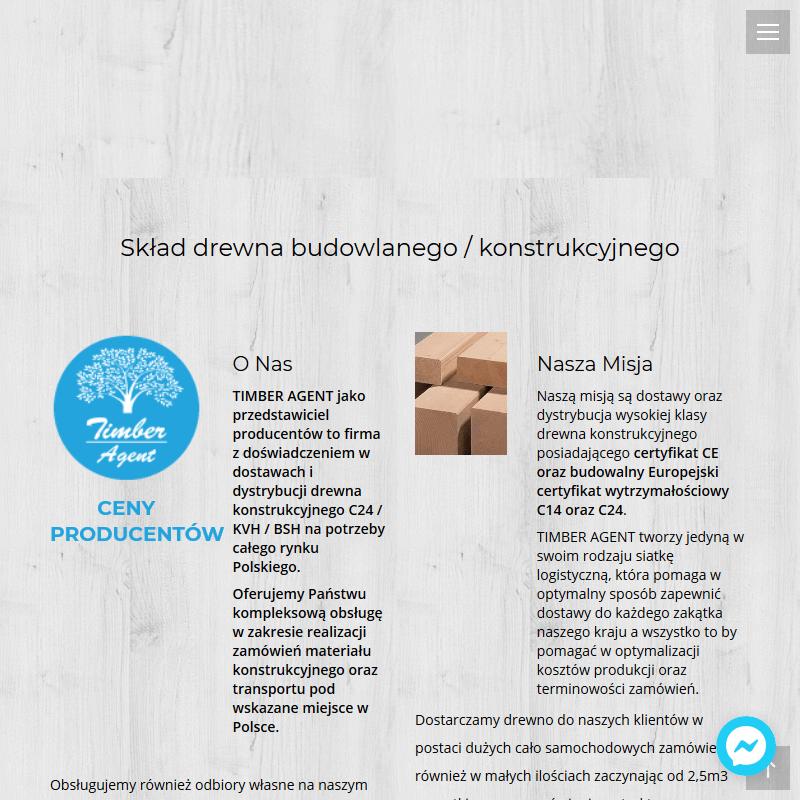 Drewno konstrukcyjne ze Szwecji z certyfikatem