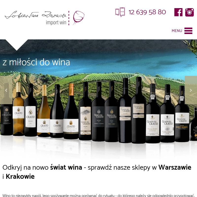 Wina argentyńskie i austriackie - Sklep
