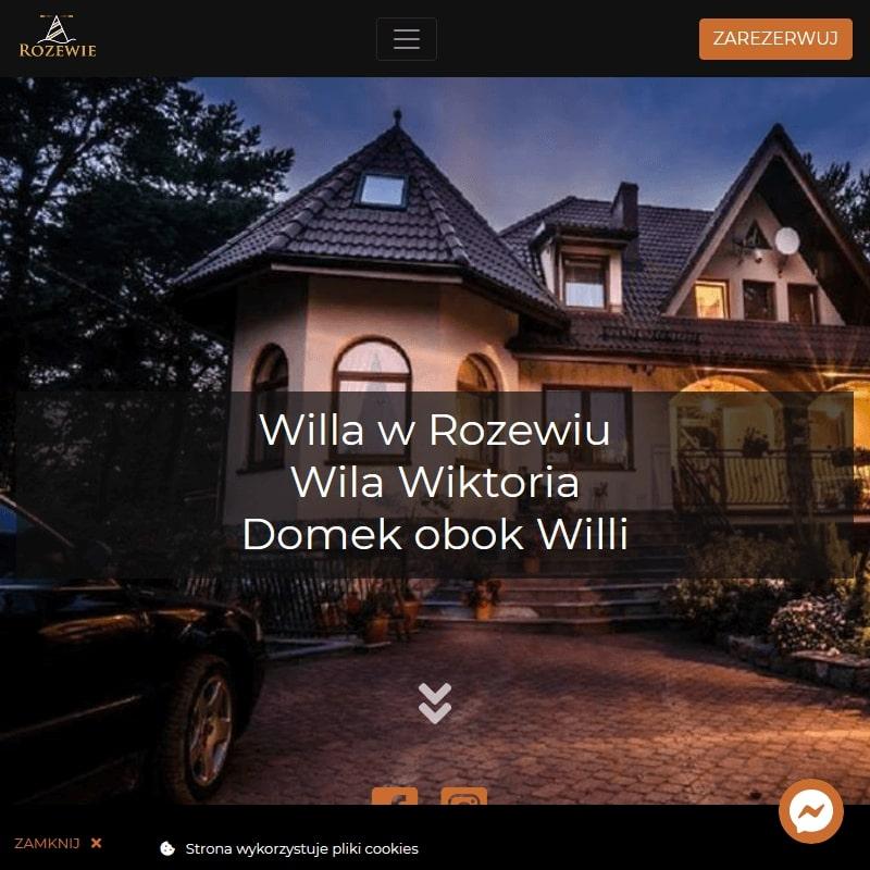 Wynajmem apartamentów w Rozewiu