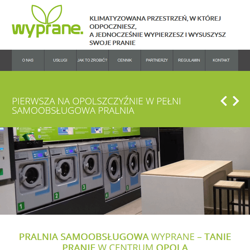 Pralnia dla akademików - Opole